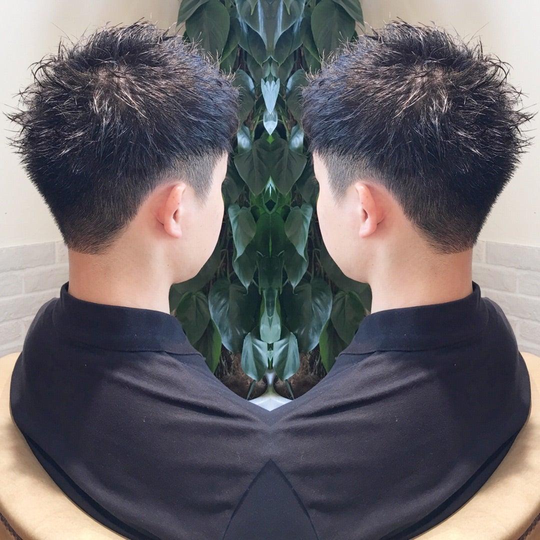 メンズ 短髪