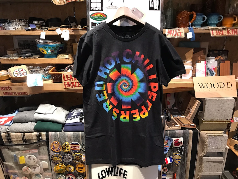 56d468c7 RED HOT CHILI PEPPERS Tie-Dye Logo Tee shirts | 『OUTSIDE』