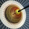 蛇の目傘2019|蛇の目《中入り》3種|番傘とは似て非なる高級化粧和傘。失われつつある和装小物。の画像