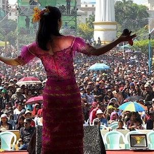 【5年連続ミャンマー水かけ祭り出演決定】の画像