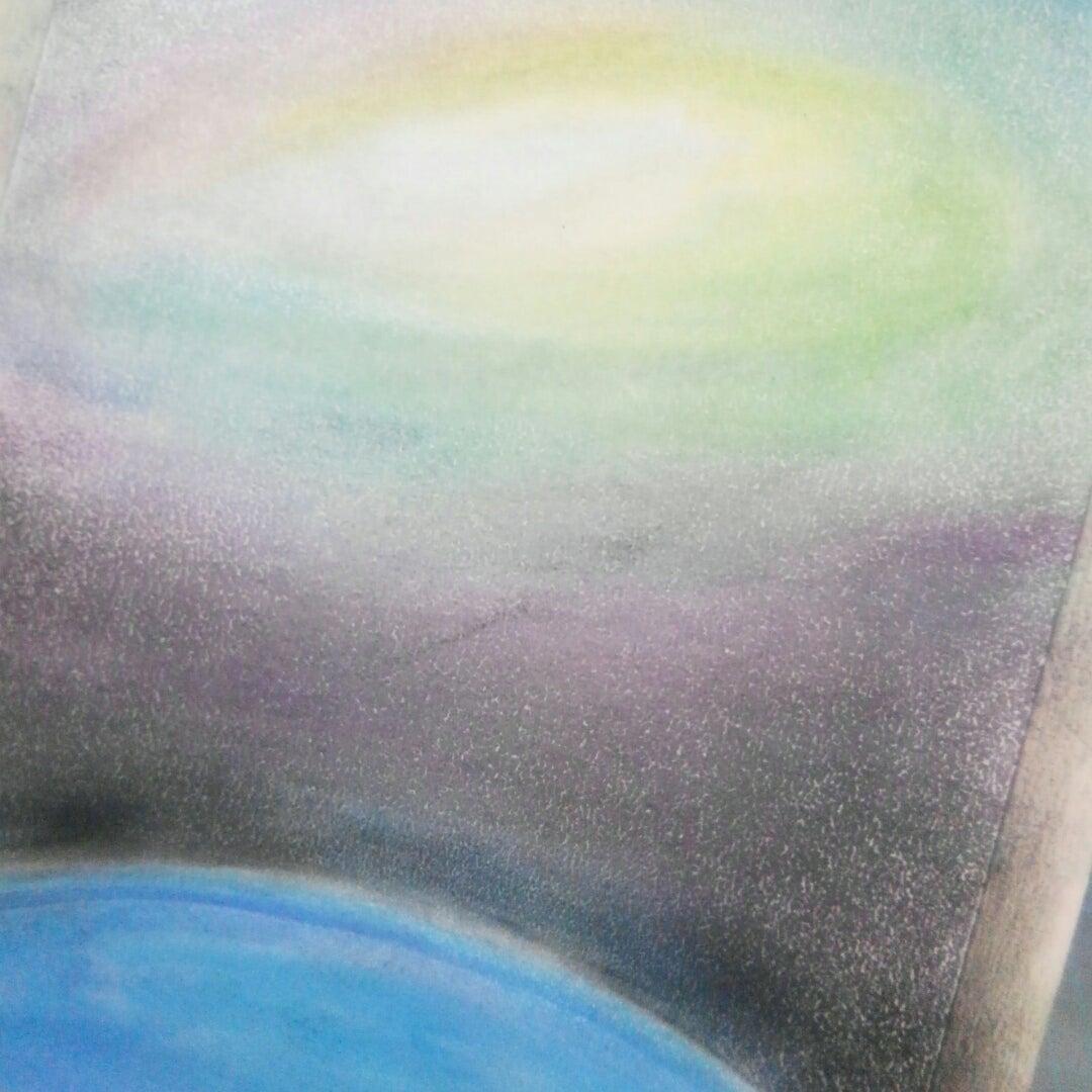 満天の星・宇宙背景でフラワーオブライフ