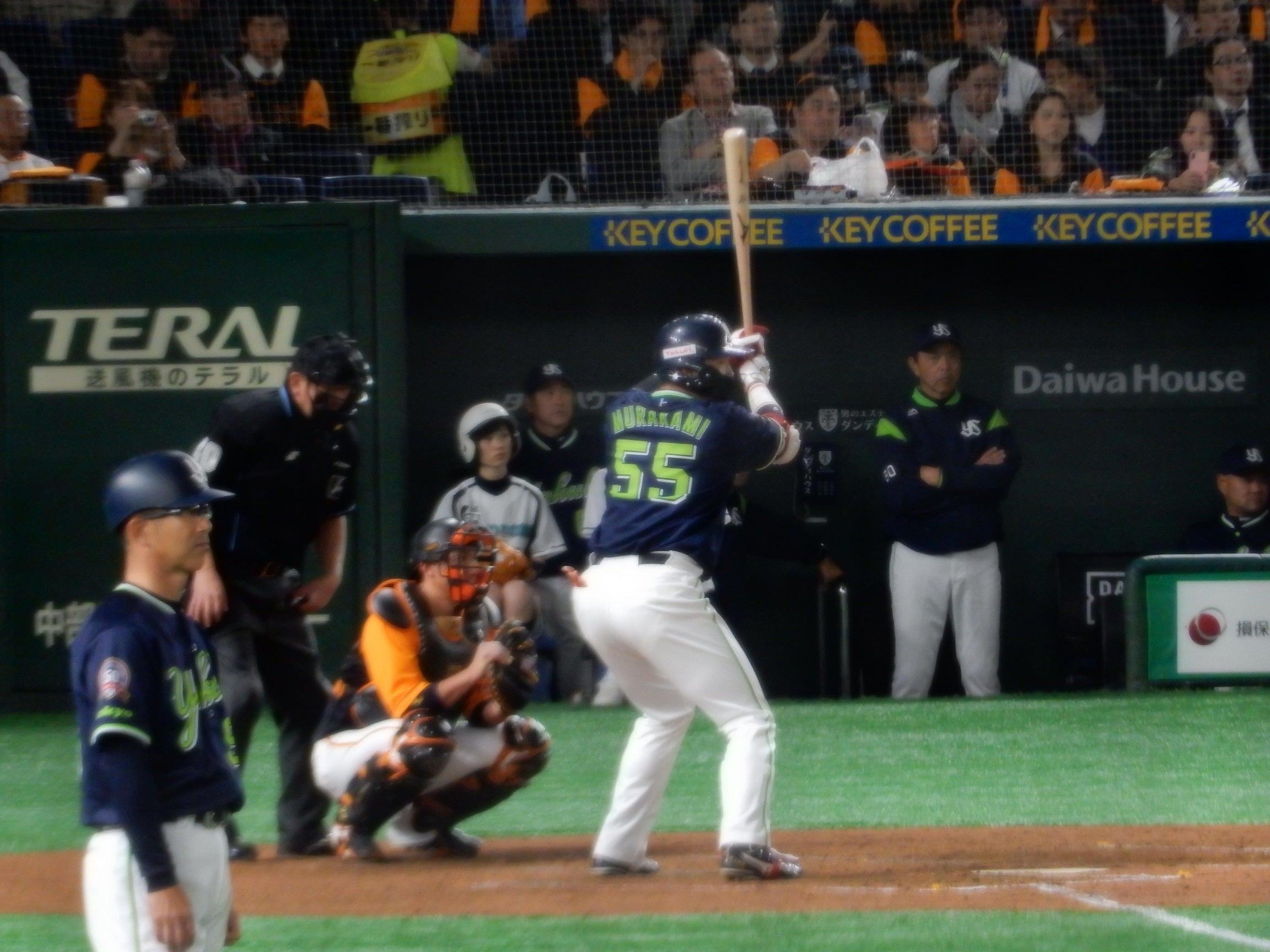 2019 巨人 vs 東京ヤクルト @東京ドーム