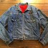 50's Tuf-Nut Flannel lininng INDIGO Denim Jacketの画像