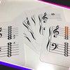 音符カードを使ってお家でも譜読みのお勉強(^^♪の画像