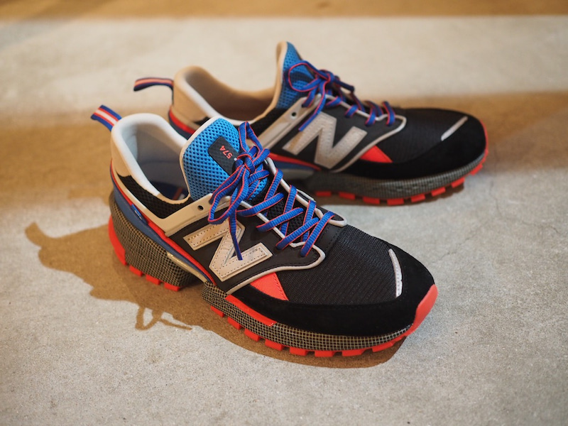 a32d4adcd4e1 new balance MS574 V2 SCREEN WHIZ LIMITED x mita sneakers