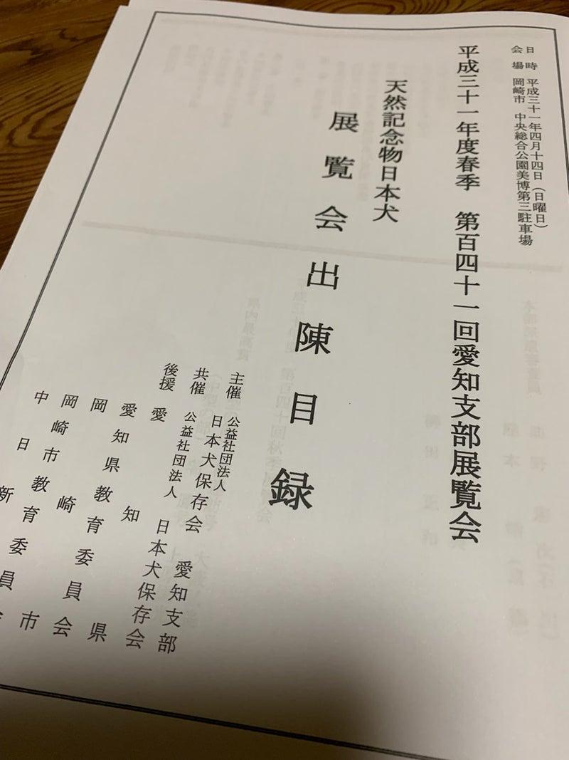 日本犬保存会愛知展①〜出陳編〜 | 良かった便り・・・