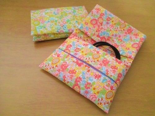 ふた あり ポケット ケース ティッシュ 作り方 ポケットティッシュケースの型紙7選!ポケットティッシュケースの作り方も