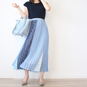 【Joint Space】夏にヘビロテしたい着回し抜群ニットと一目惚れスカート。