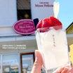 お花見めぐり&1日限定50食スイーツ大とろ牛乳☆三春の滝桜@福島県三春町