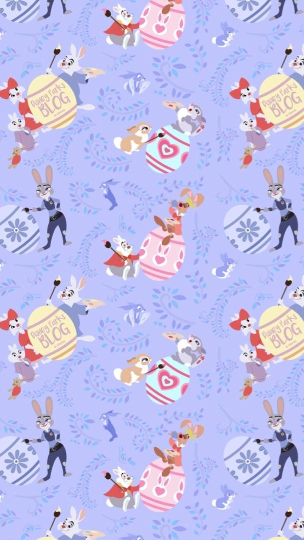 【disney Wallpaper】bunny Design Disneyparksblog Disney