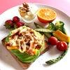 糖質を摂取しながらダイエット  アボカドトーストの画像