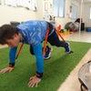足利市 ボディボードの体幹トレーニングについての画像