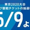 TOKYO2020五輪チケットの画像