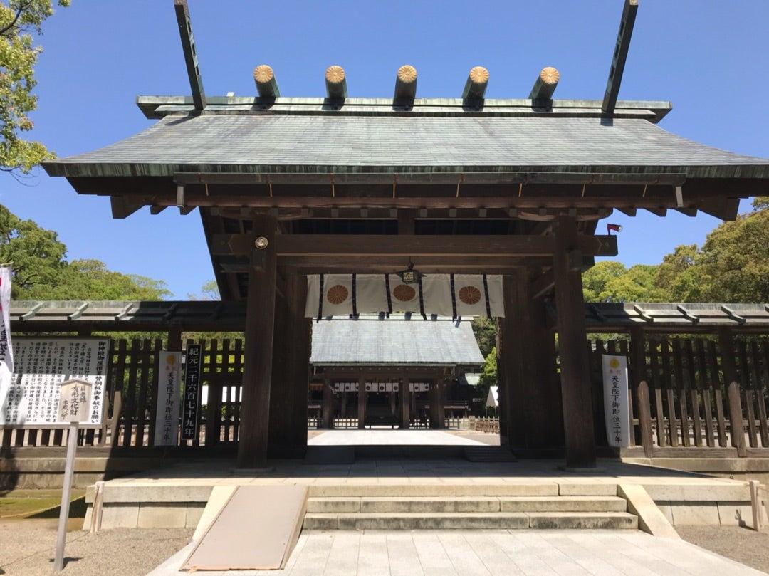 伊勢神宮から譲り受けた皇宮神社