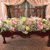【結婚式レポ】高砂装花&両家両親テーブルは…