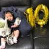 生誕100日の画像
