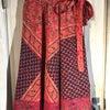 70's INDIA cotton Winding Skirtの画像