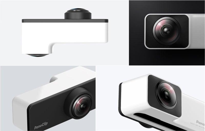 PanoClip (パノクリップ) iPhone対応360度パノラマカメラレンズ