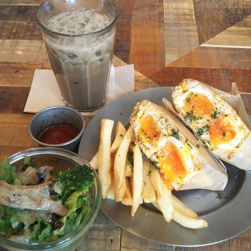 御徒 町 egg baby cafe