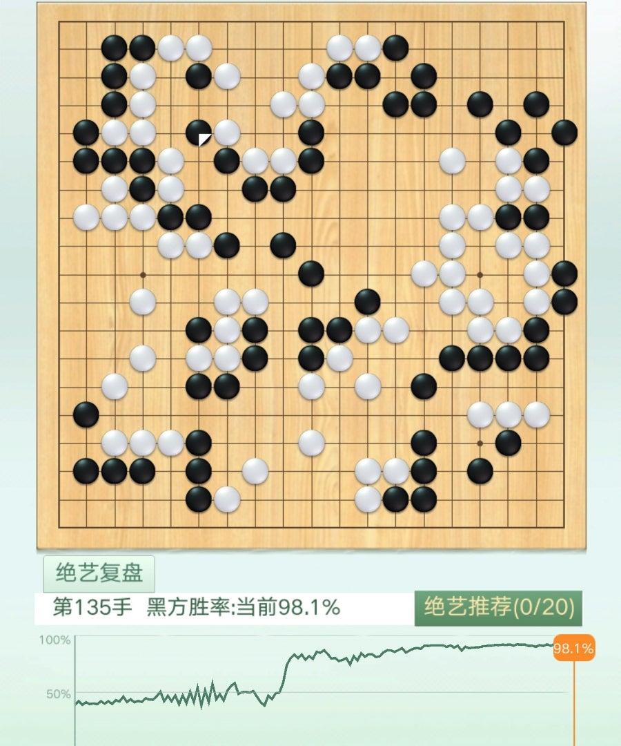 ネット碁 芝野虎丸vs仲邑菫