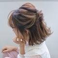 locariで紹介して頂いた記事 hair arrange & hair set