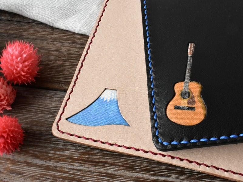 富士山とギター
