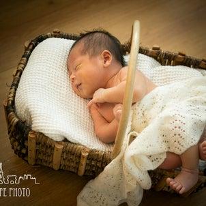 ご自宅で新生児フォト♡の画像