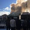 ▼唸声火災現場のストリートビュー/富士宮市西町で火災、2棟全焼1棟も一部焼けるの画像