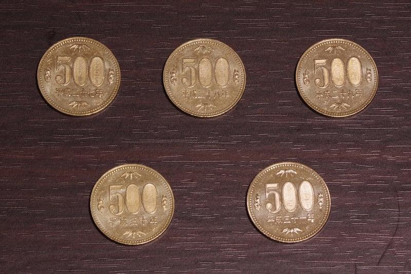 500円硬貨 平成27年〜平成31年