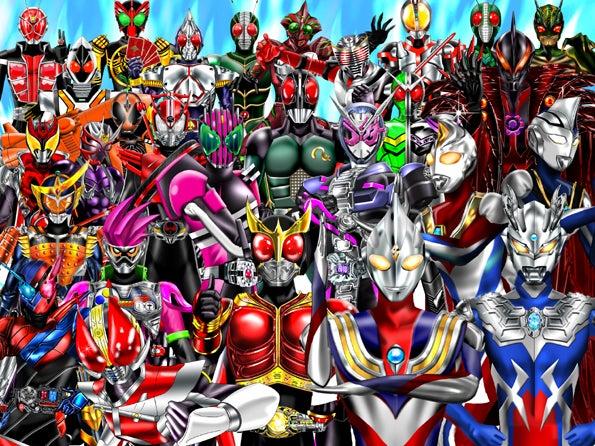 世界よこれが日本のヒーローだ平成ライダー平成ウルトラマン