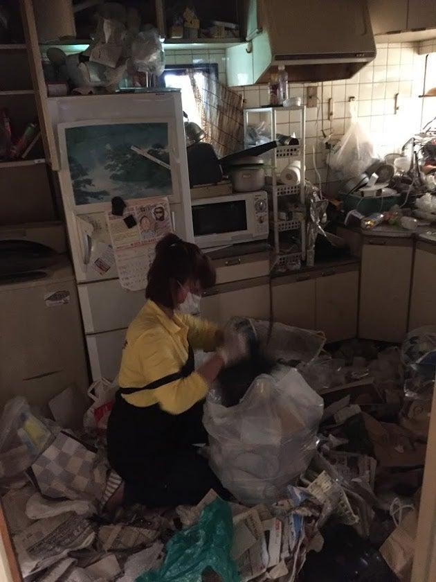 ゴミ部屋片付けはまごのて最強伝説