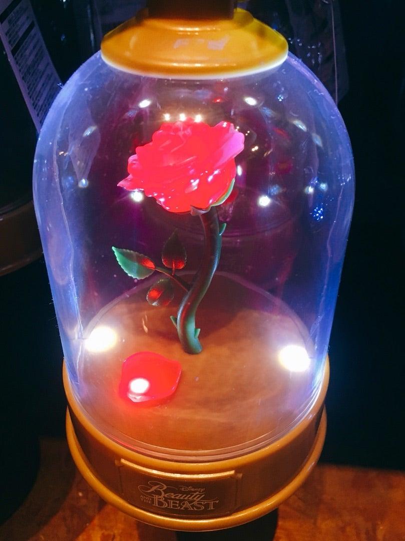 東京ディズニーランドグッズ・ライブグッズ買い物代行購入「スグキチャオ!!」ブログ美女と野獣のバラやシンデレラのガラスの靴!光るおもちゃ5種類新発売!