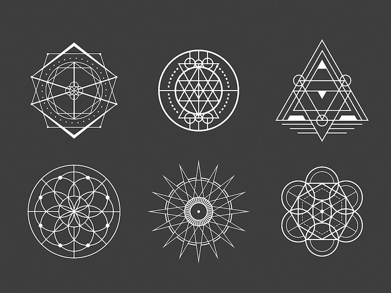 幾何学模様とは。 | 覚醒artist 「Kensuke」のブログ
