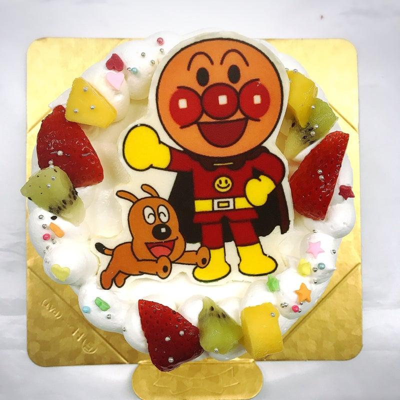 ポップアップイラストフォト アンパンマンとチーズケーキl 菓の香