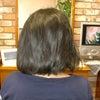 急に増えた縮毛矯正の画像