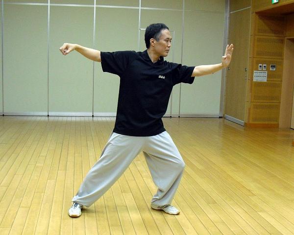 楊式太極拳の写真