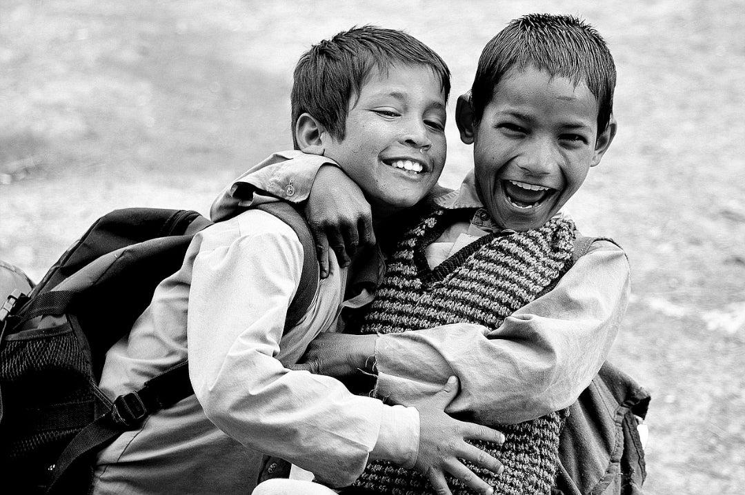 笑顔は笑顔を引き寄せる