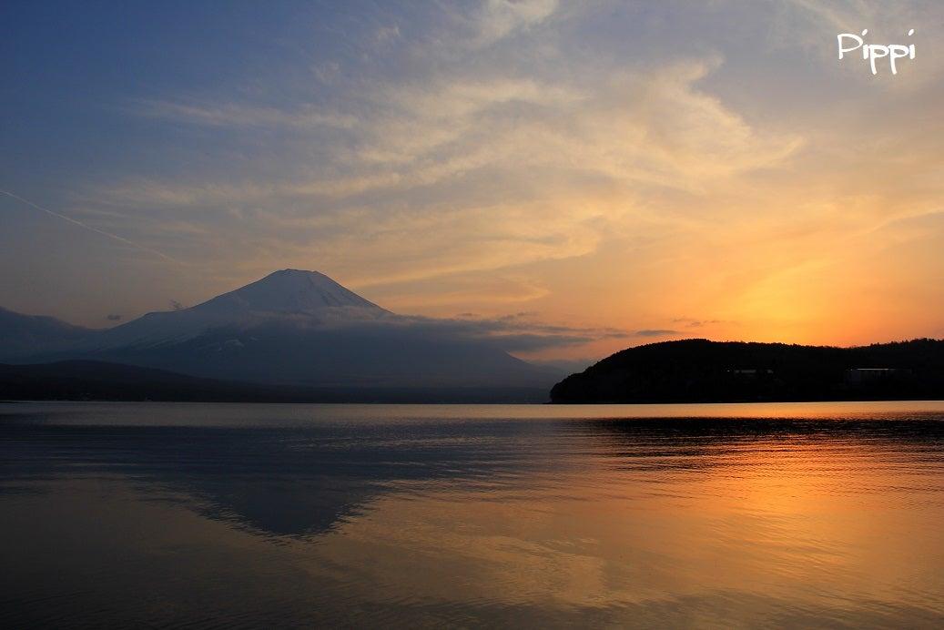 ピッピ 憩いの空間富士山 夕から夜へ