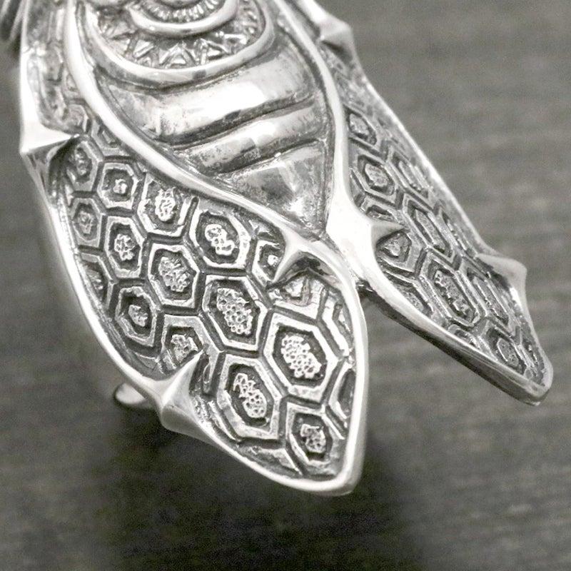 avatara アヴァターラ シルバー 蝉 セミ 蛸 リング シルバーギークス