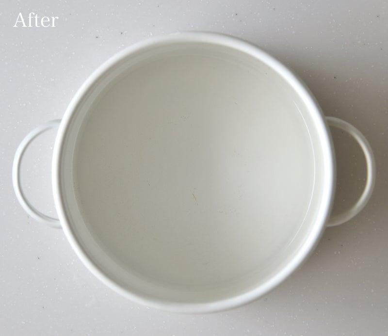 琺瑯を簡単にきれいにする方法