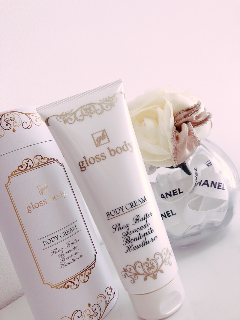 """gloss bodyのボディクリーム"" その後♡(ameba blog にてご紹介)"