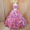 お花ドレス ローズ&ラベンダーの画像