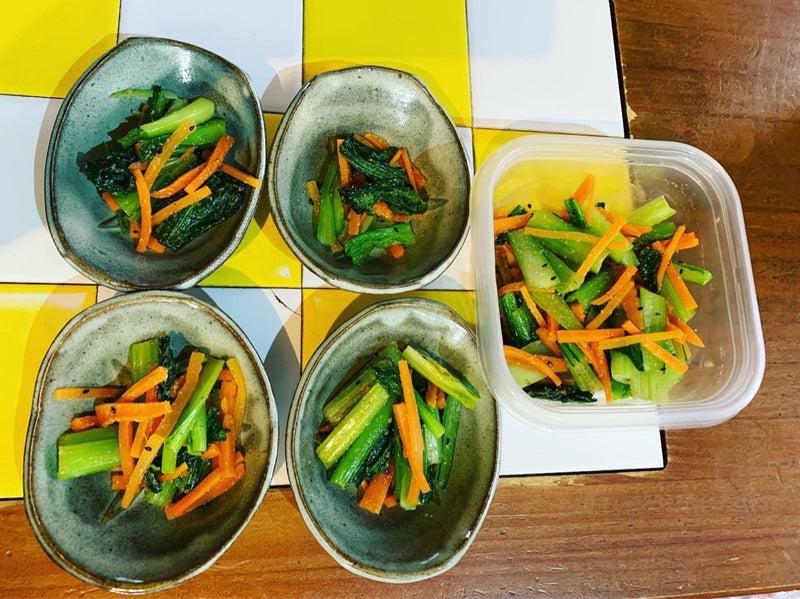 小松菜ナムル 糖質