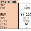 5/9 【CAD×円】両建編 <新規>売400ドルの画像