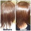 毛髪強度UP! ツヤ、感触もアップ♪|マレーアレナータ縮毛矯正とカラーの画像