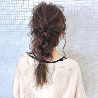 お客様ヘアアレンジ hair arrange & hair set