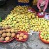 カンボジアの日常的な市場の画像