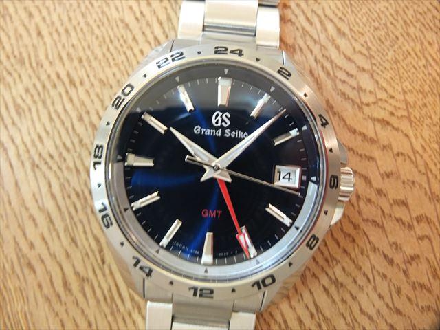size 40 75f39 72a85 グランドセイコー GMT 青文字盤 クォーツ SBGN005 | 時計人気