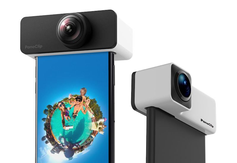 PanoClip (パノクリップ) iPhone対応360度全天球型カメラレンズ
