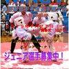 WING7大阪東部空手道選手権大会 選手募集ちゅうの画像